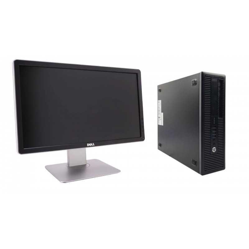 """Pack HP ProDesk 600 G1 SFF + Écran 20"""" P2014H"""